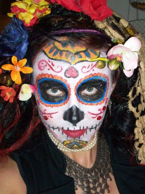 New Orleans Henna Face Body Painting